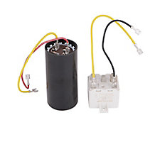 lennox 4 ton 14 seer. lennox lb-31200bm start assembly kit, contains potential relay and capacitor 4 ton 14 seer