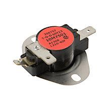 10M7501 LIMIT CONTROL-LABEL BLACK W/ RED