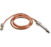 "30 mV Thermocouple with 11/32 32 Male Connector Nut Connection and 24"" Leads"" Q340 Series"