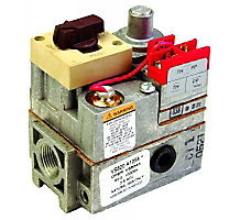 "750mV, 1/2 x 3/4"" Standard Opening Gas Valve with 1/2"" Side Outlets"