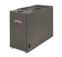 Dave Lennox Signature Collection, Lo-Boy/Front Flue Oil Fired Forced Air Furnace, 80% AFUE, 105K Btuh, 3.5 Ton Blower, Variable Speed, 1400 CFM, SLO185BF79/105V42