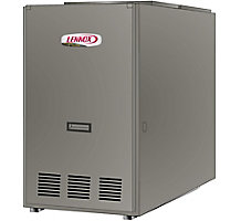 Dave Lennox Signature Collection, Lo-Boy/Rear Flue Oil Fired Forced Air Furnace, 80% AFUE, 105K Btuh, 3.5 Ton Blower, Variable Speed, 1400 CFM, SLO185BR79/105V42