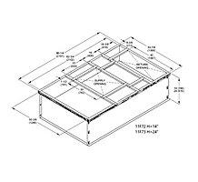 S1CURB71111 DNFLOW HYBRID CURB 14
