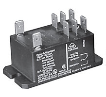 T92 Series Two-Pole 30A Printed Circuit Board / Panel Mount Relay