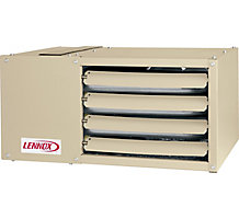 LF24-75A Unit Heater, 75,000 Input Btuh, 60,000 Output Btuh, 115 Volts, 60 Hertz, 1 Phase, 80% Efficiency