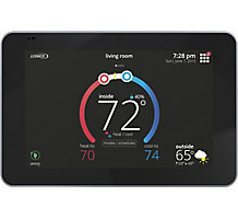 Lennox iComfort S30 Smart Thermostat, Programmable Wi-Fi, Color Touchscreen, Communicates with Smart Hub