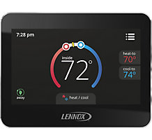 Lennox CS7500 Comfortsense 7500, Universal Programmable Thermostat, 7-Day, 4 Heat/2 Cool, Multi-Stage, Dual Fuel Capable