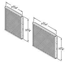 C1GARD51A-1 MESH HAIL/COIL GUARD
