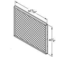 E1GARD51B-1 MESH HAIL/COIL GUARD