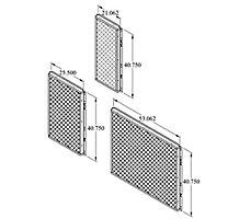 C1GARD52B-1 MESH HAIL/COIL GUARD