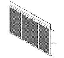 C1GARD51C21 MESH HAIL/COIL GUARD