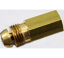 "1/8""OD Compression Fitting for Cast Iron Gas Boiler for Forced Hot Water"