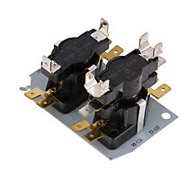 14B0401 Stacked Thermal Relay, N.O., 1 SPST and 1 DPST, 24 Volts