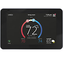 "Lennox iComfort E30 Universal Smart Programmable Thermostat, 7"" HD Color Display"