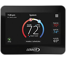 "Lennox iComfort M30 Universal Smart Programmable Thermostat, 4.3"" LCD Color Display"