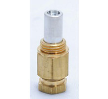 """Inlet Fitting Used with Intermittent/Standing Pilot Ignition Systems"""" 0.011"""" Orifice Short Insert Inlet"""