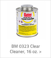 BM 0323 Clear Cleaner