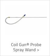Coil Gun Probe Spray Wand