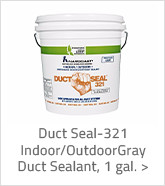 Duct Seal 321 Indoor Outdoor Gray Duct Sealant