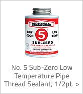 No. 5 Sub-zero Low Temperature Pipe Thread Sealant