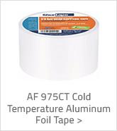 AF 975CT Cold Temperature Aluminum Foil Tape
