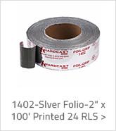 1402-Slver Folio 2 inch