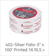 402-Silver Folio 3 inch