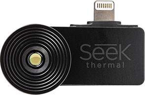 Seek Thermal Compact Camera and Thermal Imager for iPhone/IOS and Android Devices