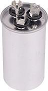 Round Dual Run Capacitor