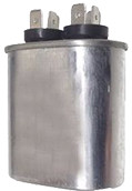 Oval Run Capacitor
