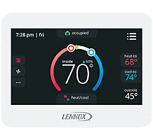 CS8500 ComfortSense 8500 Commercial Programmable Thermostat, Non-Zoning, CO2 Sensing