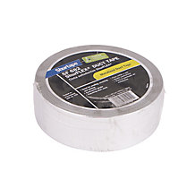 "Shurtape SF 682 Shurflex Non-Printed Cloth Duct Tape, 2"" x 60 yd., Metalized"