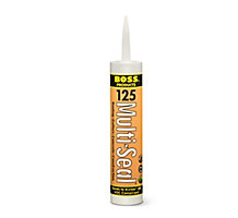BOSS 12501 Multi-Seal Building Construction Sealant, White, 10 oz.