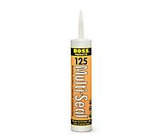 BOSS 12501 Multi-Seal Building Construction Sealant, White, 10 oz.