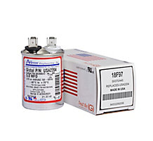 Run Capacitor, Made in USA, 5 MFD, 440V, Round
