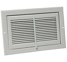 NK 10-002 Hinged Kitchen Exhaust Grille Kit Includes One Aluminum Filter
