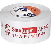 """Shurtape AF 100 Printed Aluminum HVAC Foil Tape, 2-1/2"""" x 60 yd."""