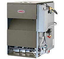 Lennox, Gas-Fired Water Boiler, 42000 Btuh, 84% AFUE, Chimney or Side Wall Vented, GWB84-042IE