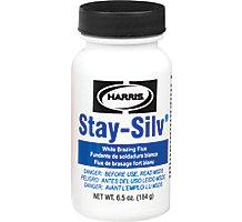 Harris SSWF7 Stay-Silv White Paste Brazing Flux, 6.5 oz. Brush Cap Bottle