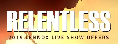 2019 Lennox Live Show Offers