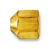 C&D 1/4 HEX Flare Cap Metal to Metal Seal