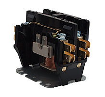 FirstChoice Contactor, Double Pole, 40A 24V Coil