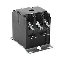 FirstChoice Contactor, Triple Pole, 40A 24V Coil