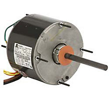 Permanent Split Capacitor Condenser Fan Motor 5.6 Diameter ODP Air Over 1/2 Hp 1075 RPM 208 - 230 V