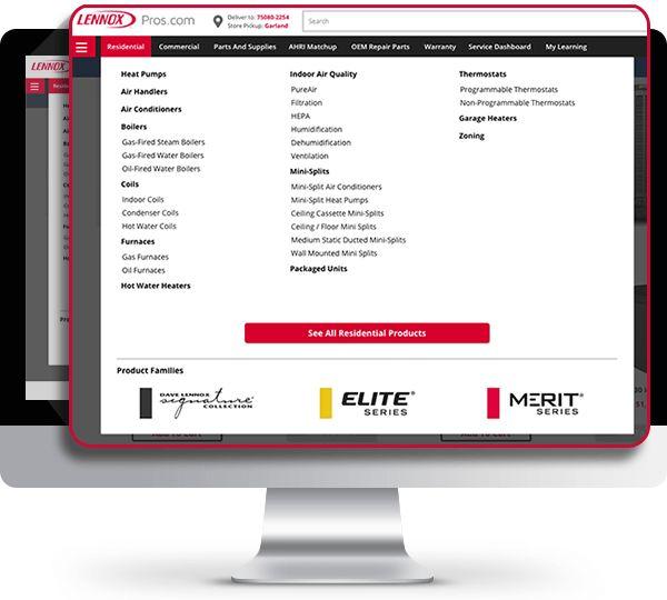screenshot of the new easy access menu