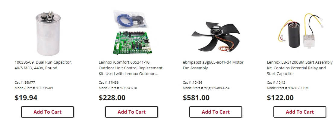 product thumbnail image in image carousel
