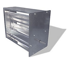 "Spinnaker L1800 Series Damper Shell - 10""W x 26""H"