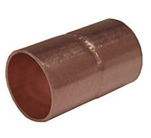"""1/4"""" Coupling Rolled Stop"""" C x C"""