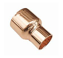 COPPER COUPLING 3/4 X 1/2