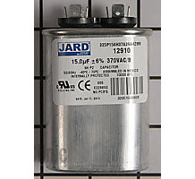 100600-02, Run Capacitor, 7.5 MFD, 370V, Oval